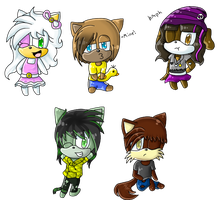 Pc - Attack of the chibis by xXLily-n-SketchesXx