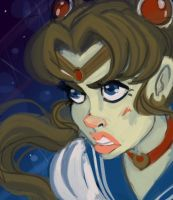 Sailor Moon Speedpaint by YaneYing