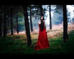 lady in red II by intels