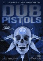 Dub Pistols Poster by kitster29