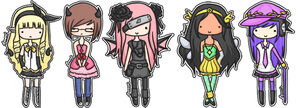 Gaia :: Chibi Dump by purple-Jesseh