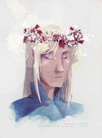 Flower Crown Manwe by sycamoreleaf