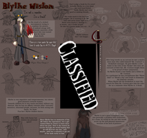 EfN: Blythe Wiston Ref. Sheet by Tuz-oh
