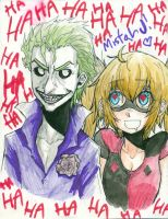 Joker and Harley by curatorEXatrum