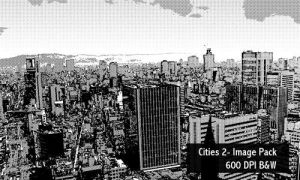 Cities 2 Image Pack 600 DPI by screentones