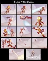 Ironlad VS MiniUltraman Collab by KendrickTu