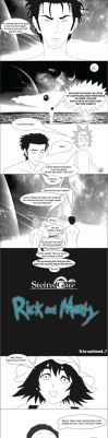 Steins gate/Rick and Morty: how did we get here? by sentry1996
