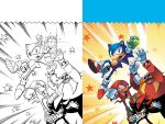 Sonic Super Digest 03 Cover by herms85