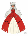 Lady Inuyasha Color by Escafa
