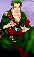 Zoro COlor by enricoroma87