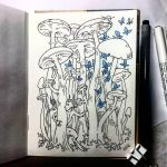 Instaart - Mushrooms by Candra