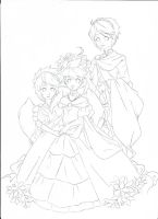 Lowell Family .:lineart:. by Angelic-Blossoms