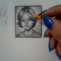 Bill kaulitz - small drawing by RashaBH