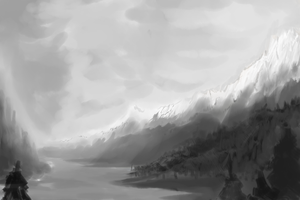 landscape by Galvin-wolf