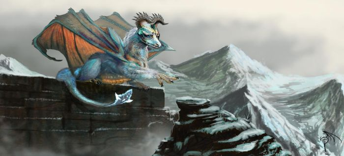 Guardian of the Mountain Castle by Decadia