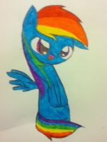 Rainbow Dash by PeppermintBowtie