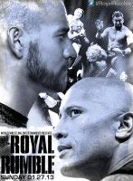 WWE Royal Rumble 2013 Poster by LockdownGFX