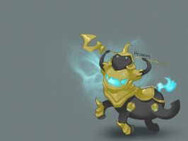LoL: Hecarim by scriptKittie