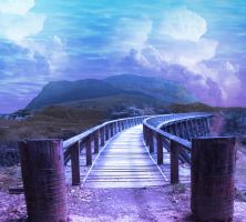 The Walkway by Nitwitbrit