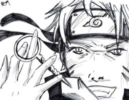Naruto Sketch by Destinyknights