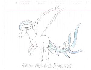 Monster Files #13. Pegasus