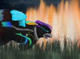Never Look Back by Gryphonwolf6274