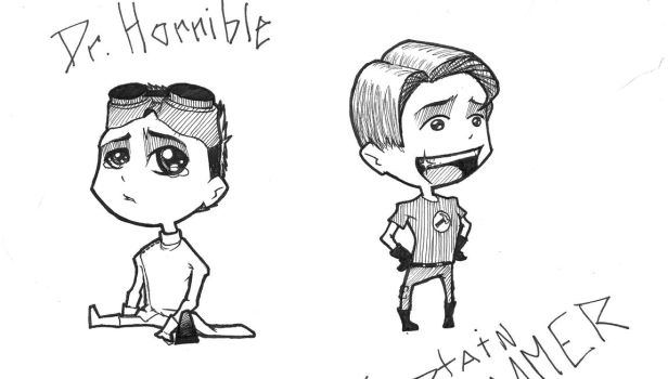 DR Horrible Chibis by Masscox