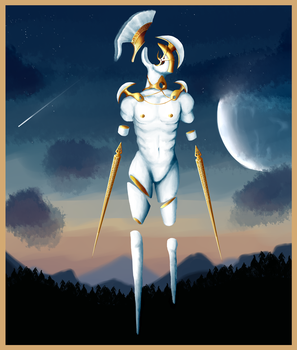 Moon Centurion by MudStains