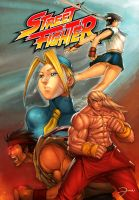 Street Fighter by darkeyez07