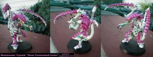 Tyranid Semi Custom Lictor by drag0nfeathers