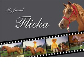 My friend Flicka by Schokolein