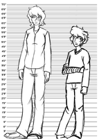 CliqueDakota -height difference by Agent42Kisa