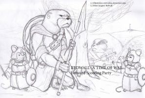 -A Time of War- Redwall Scouts by Aliies