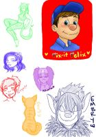 Sketch Dump One by Ayame1014