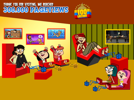 Cartoons Girls Tickled (300.000 Pageviews SPECIAL) by 100latino