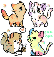 Kitty Palette Adopts 3RD ONE OPEN by Sp0ttish