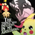 Influents in my Adolescence by Rodolfo-S