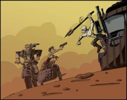 Mad Max: Fury Road by frankperrin