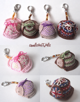 Deerstalker Keychains by TheSmall-Stuff