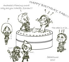 ::Happy Birthday:: by FabiKitsune