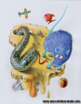 The rat and snake story 4 by marcellobarenghi
