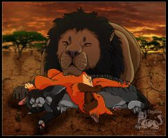 African Cat-Nap Times by NathalieNova