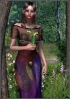 Wood-Elven Lady by joannastar