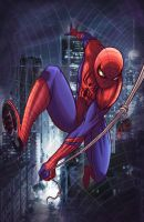 Amazing Spiderman by gidge1201