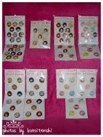 Button Sets SM KotW and OCs by kuroitenshi13