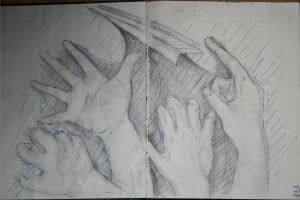 Sketchbook Page 1 by xCarnationFox