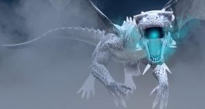 Ice Dragon Legend Of Swedoniara Mountains by TeddyBlackBear2040