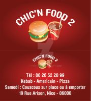 Chic'n'Food Carte Visite 3 by Fnayou
