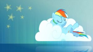 Awesome Rainbowdash by AbsentParachute