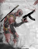 Deadpool by HockAL1215